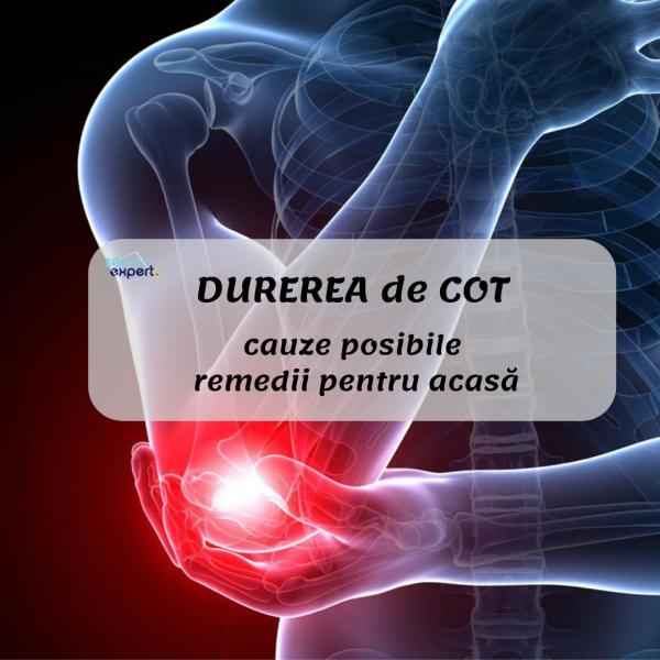 durere și amorțeală în articulația cotului