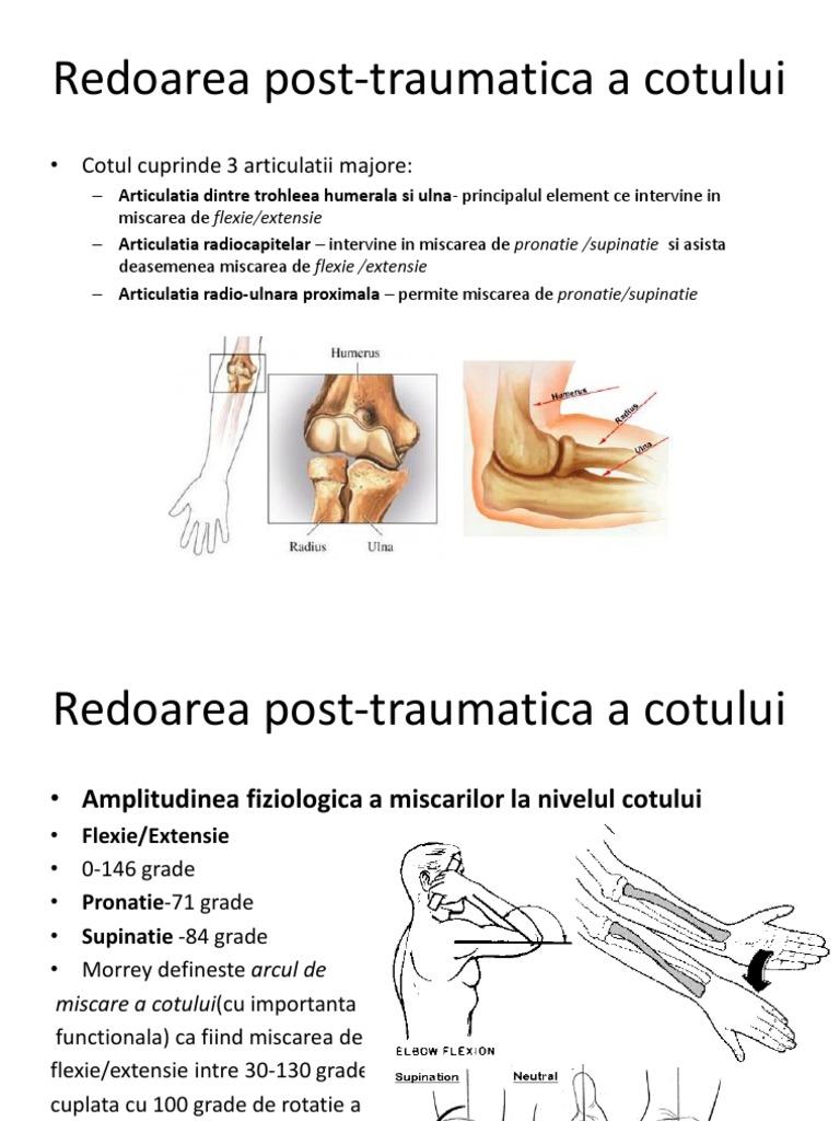 tratamentul edemului articulației cotului
