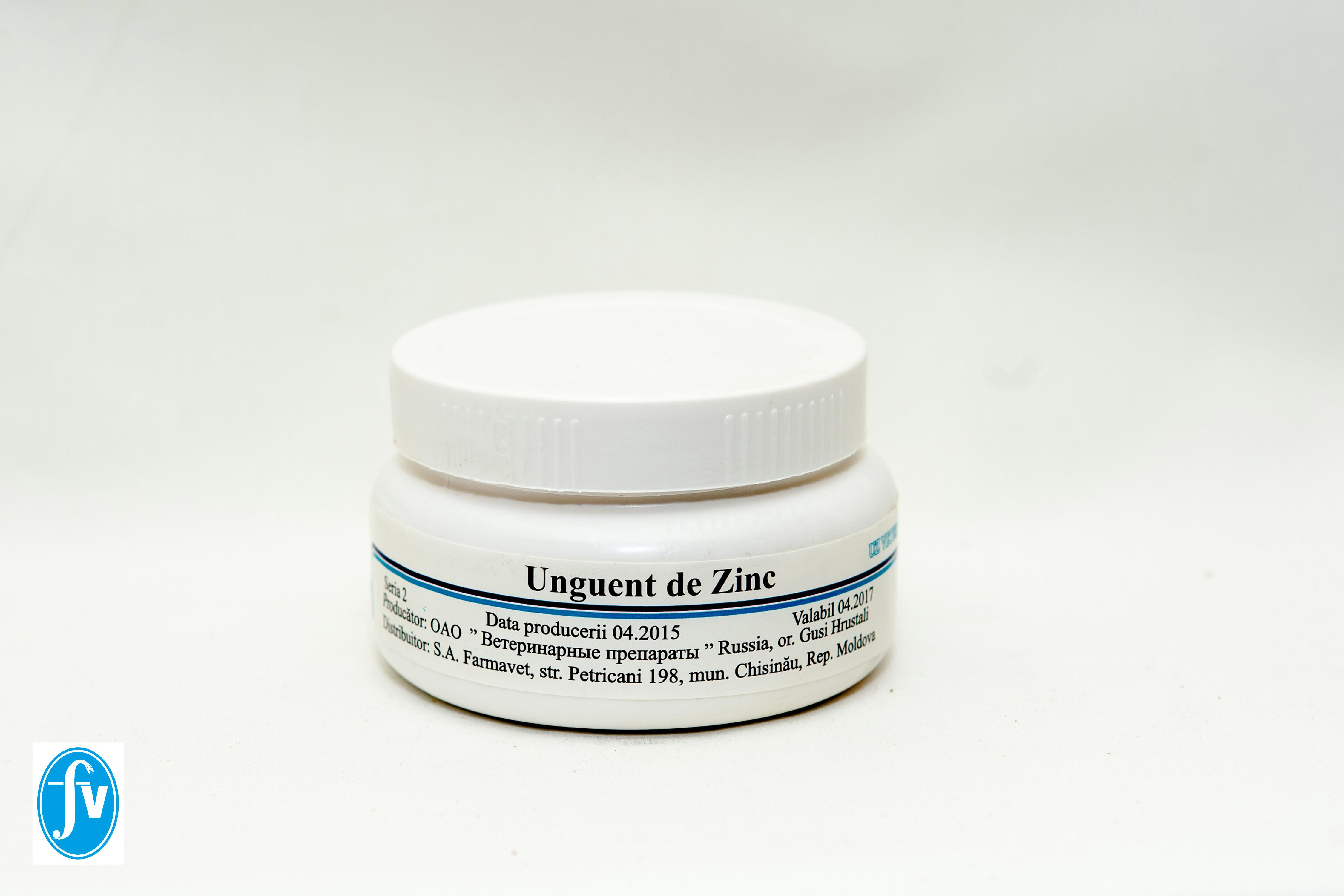 rosturi de unguent de zinc