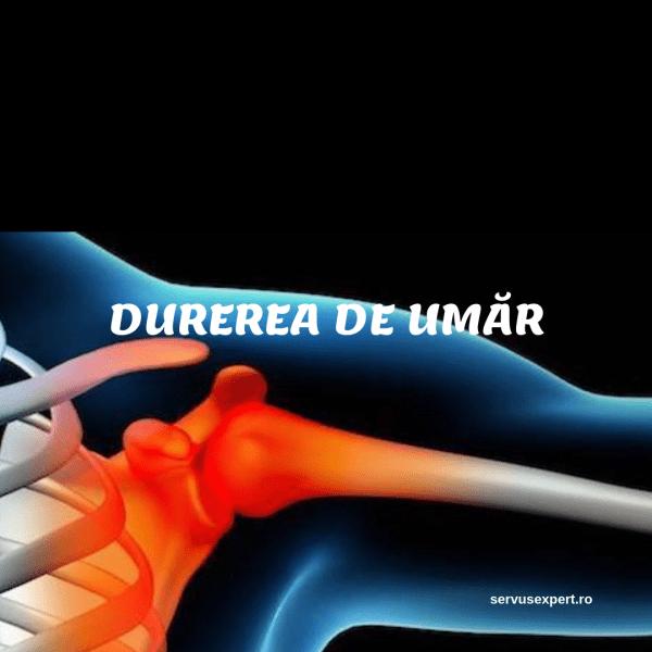 crampe și dureri de umăr de la până la tratamentul articulației genunchiului