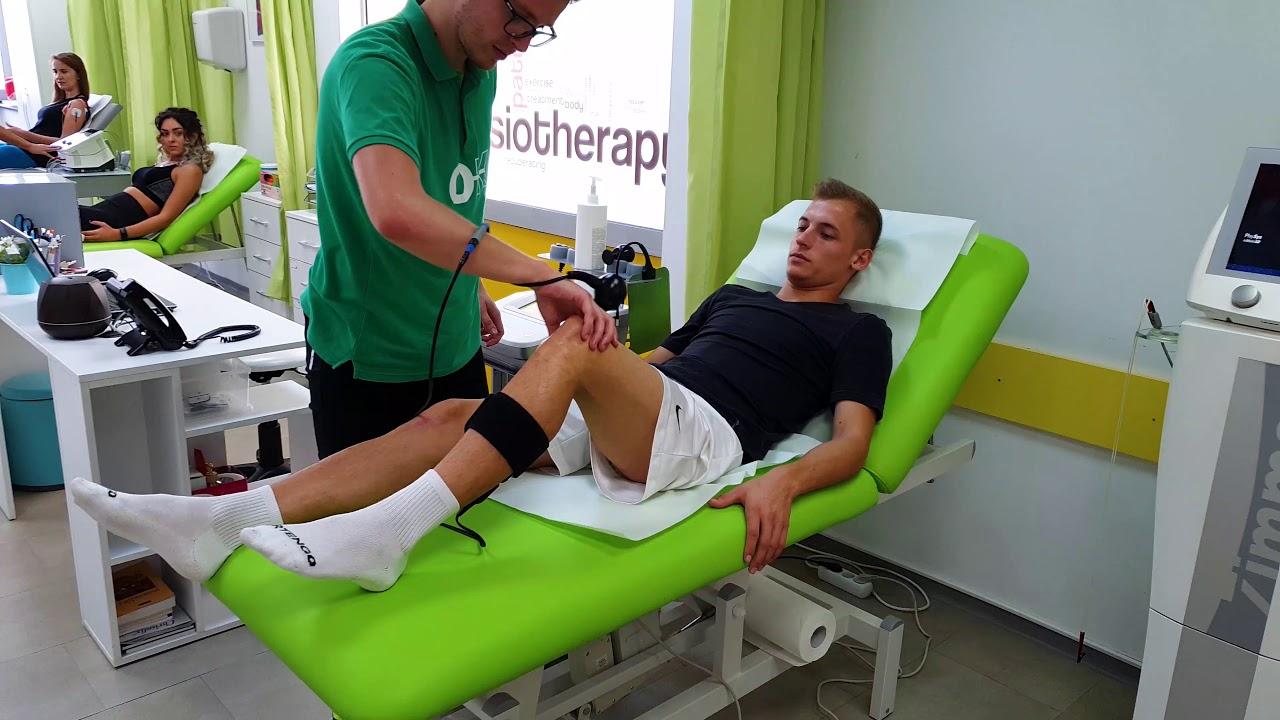 recuperare după laparoscopia genunchiului exercitii de calmare a durerii de sold