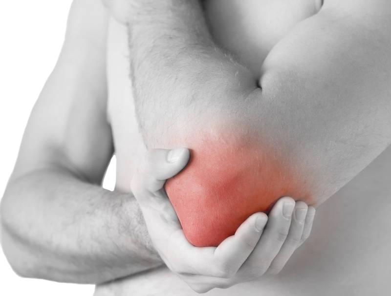 bursită seroasă a simptomelor articulației cotului și tratament pentru leziunile articulației cotului, aplicați un bandaj