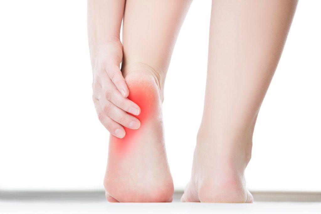 dureri de gleznă după călcâie