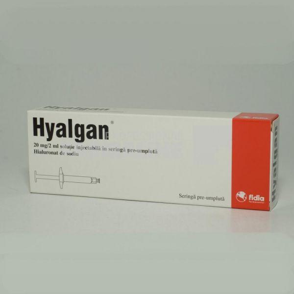 Tratamentul articulațiilor cu hialgan suferă de boală articulară