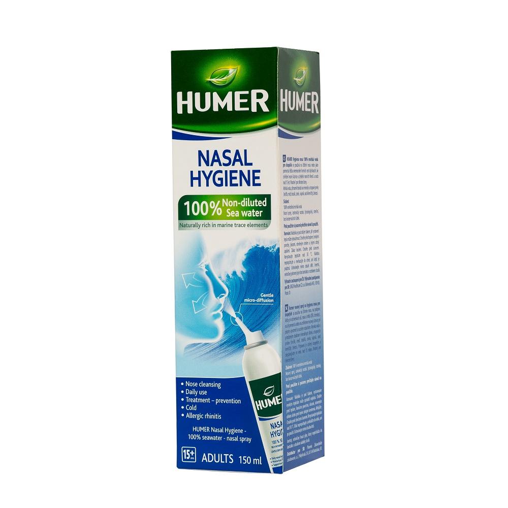 Bebicina - Apă de mare pentru igiena nazală, Hipocrate, 30 ml