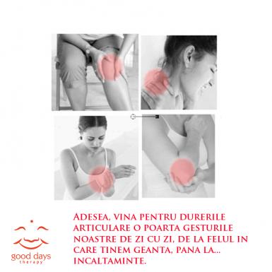 copleșirea articulației umărului și dureri severe