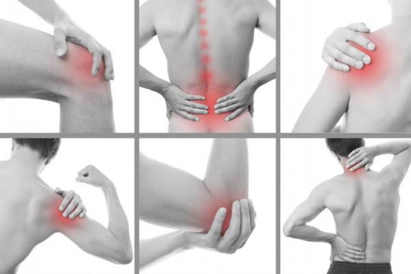 Durerea de umar, Dureri ascuțite în articulații și mușchi