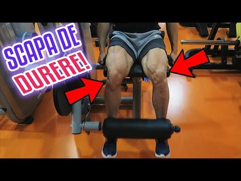 crunch de articulații ale genunchiului, fără durere