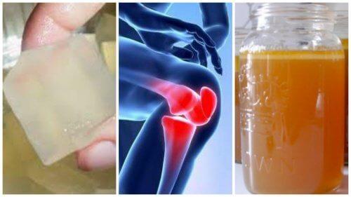 compresa de gelatină pentru durerile articulare