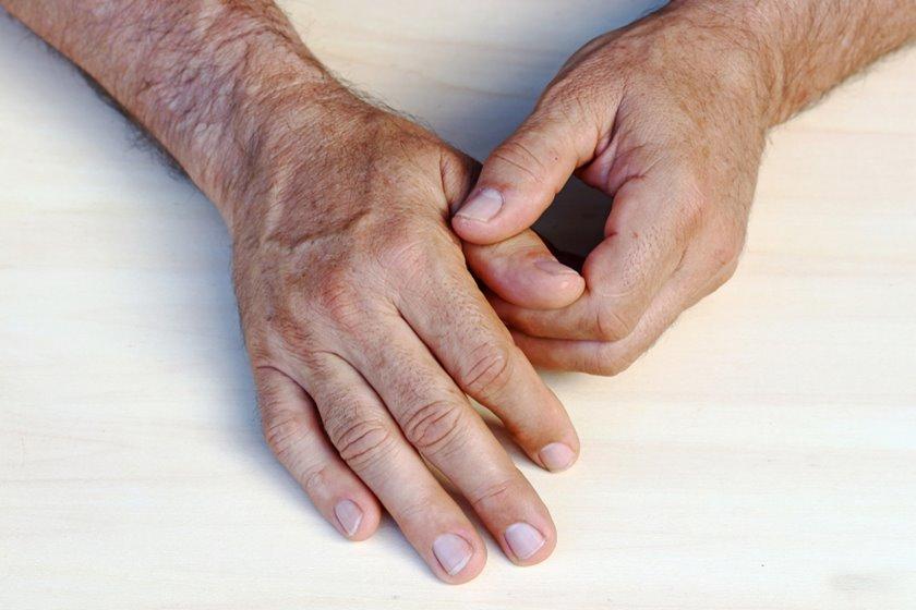 crește pe articulațiile degetelor cu o boală a genunchiului