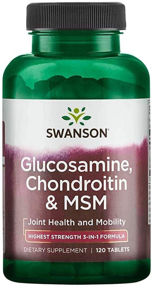 Glucosamine + Chondroitin + MSM caps. Protectia articulatiilor. studentscareer.ro