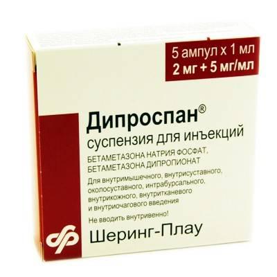 recenzii diprospan pentru dureri articulare unguente pentru inflamația articulară